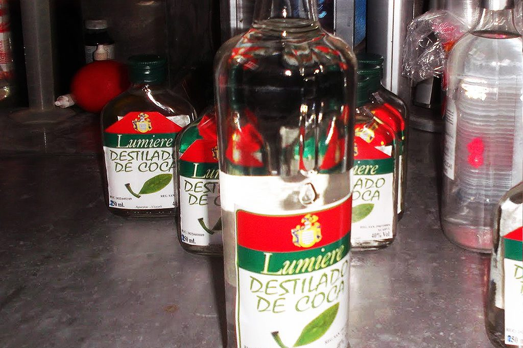 Coca Liquor
