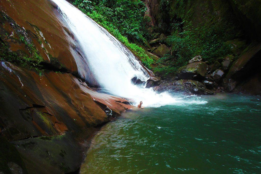Velo de la Novia Waterfall