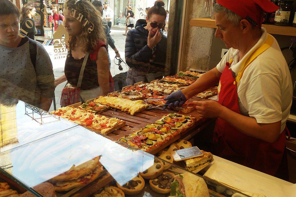 Pizza at Rizzo Pane