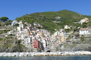 Riomaggiore, one of the Cinque Terre from where you can take world's most picturesque hike