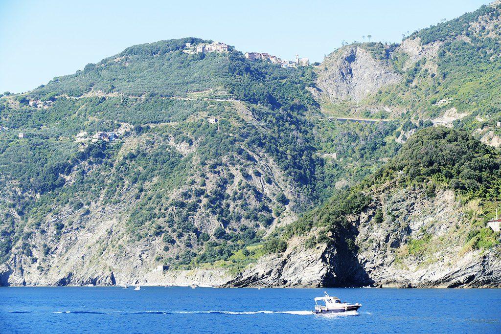 Beaches below Corniglia