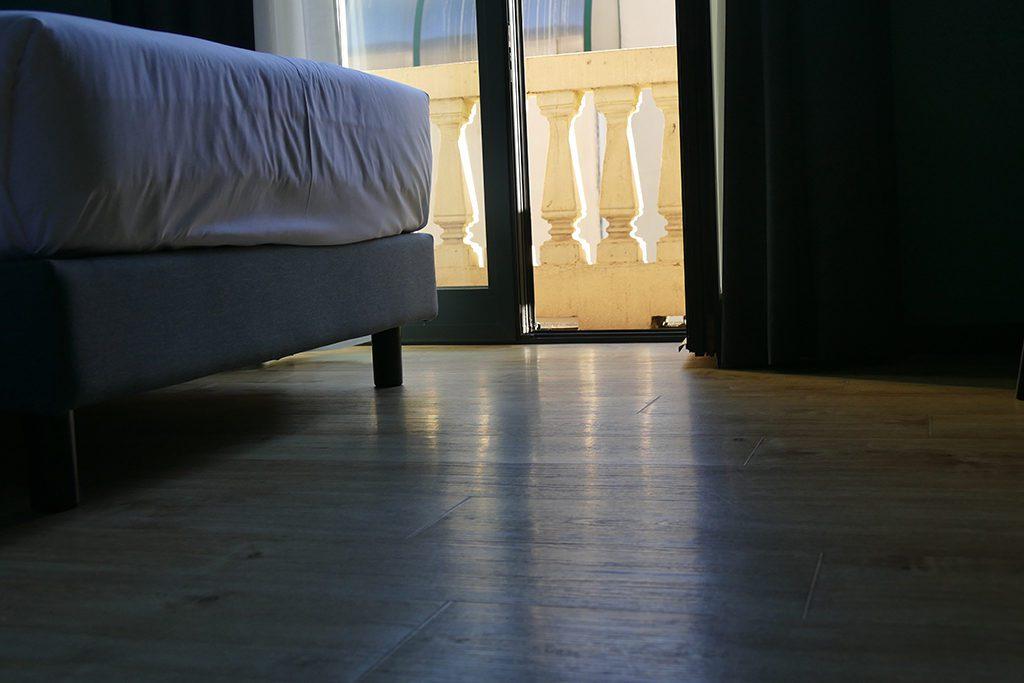 Room at the Poet Hotel in La Spezia