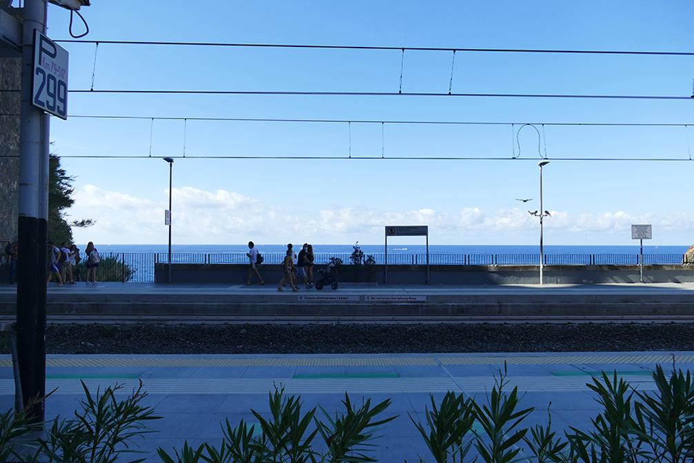 Train station in Riomaggiore