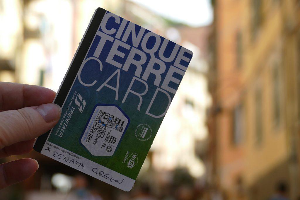 Cinque Terre Card