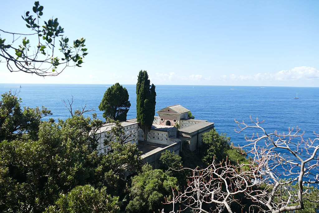 The cemetery of Manarola, one of the Cinque Terre along the world's most picturesque hiking trail