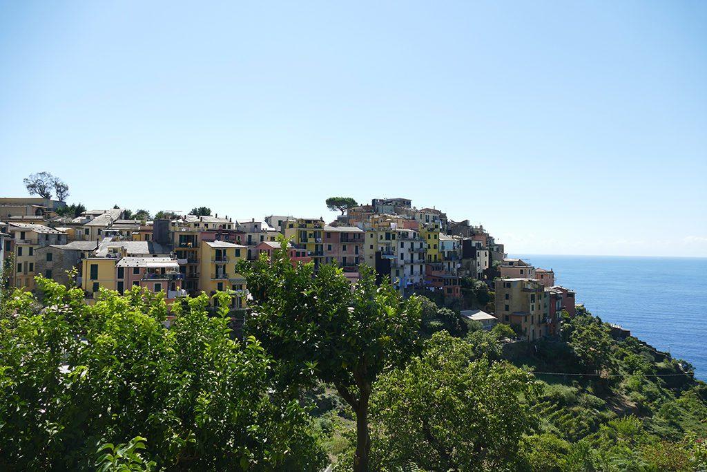 Corniglia, one of the Cinque Terre