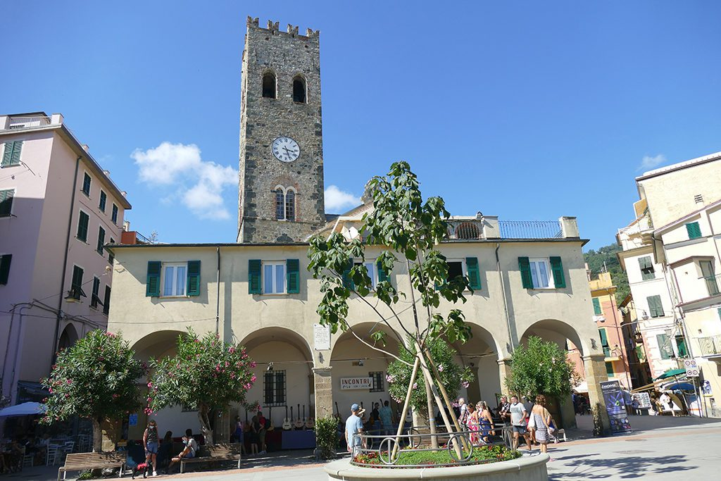 Monterosso's medieval tower