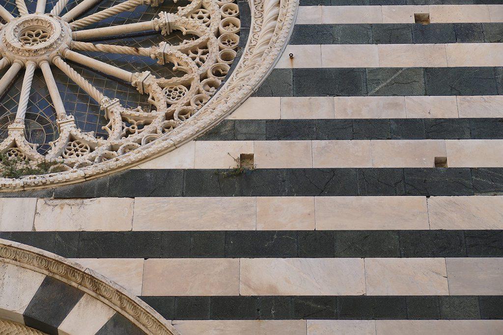 A piece of  San Giovanni Battista's  façade.