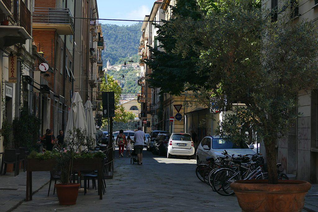 Street in La Spezia.