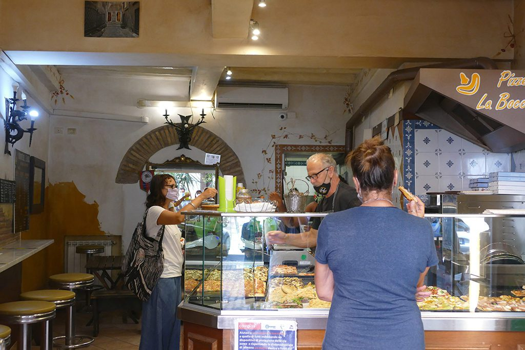 Pizzeria in Trastevere in Rome