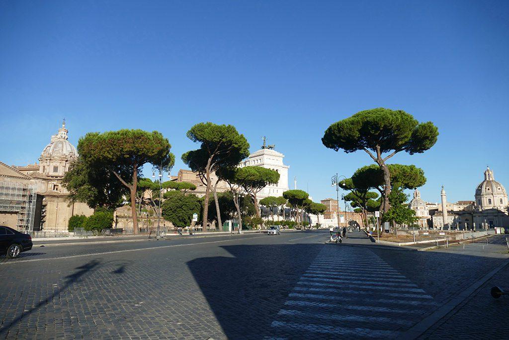 Via dei Fori Imperiali in Rome were my way to school when visiting Scuola Leonardo da Vinci