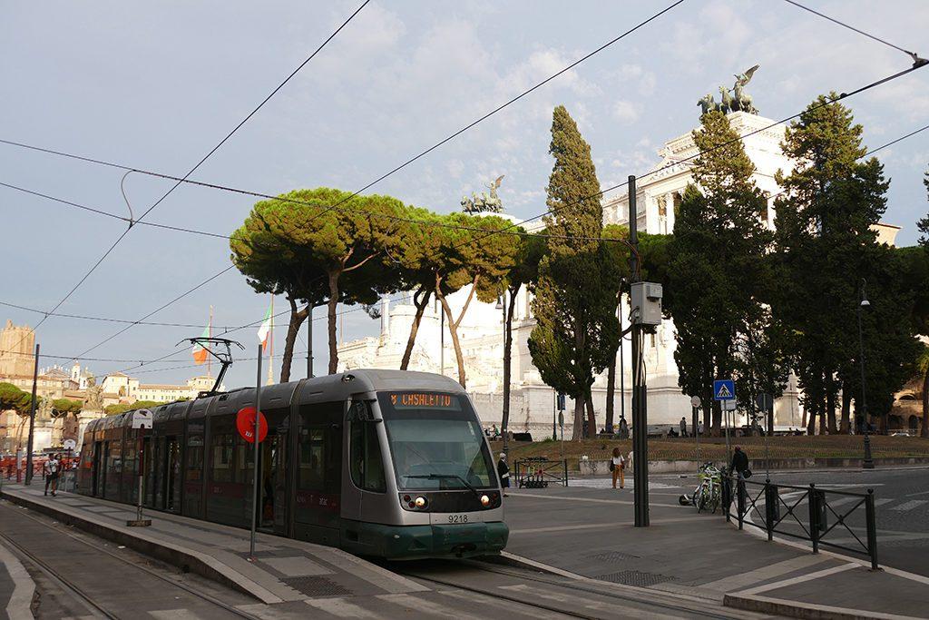 Streetcar in Rome