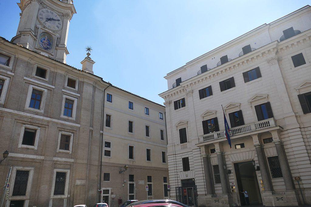 The Scuola Leonardo da Vinci at Piazza dell'Orologio in Rome