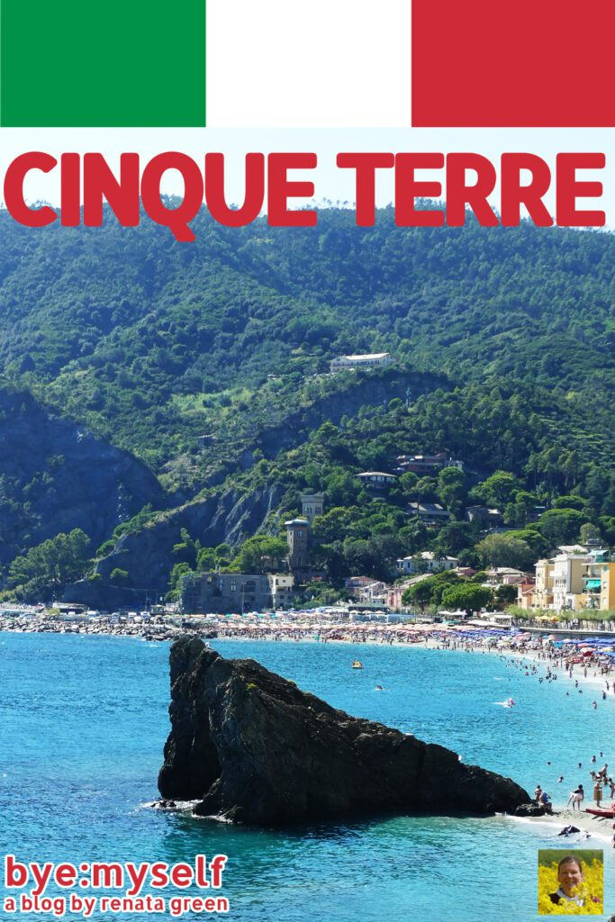 Pinnable Picture for the Post on CINQUE TERRE - The World's Most Picturesque Hike