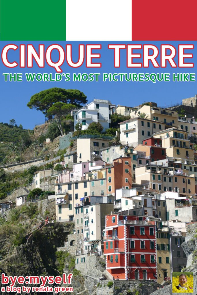 Pinnable picture on the post CINQUE TERRE - The World's Most Picturesque Hike