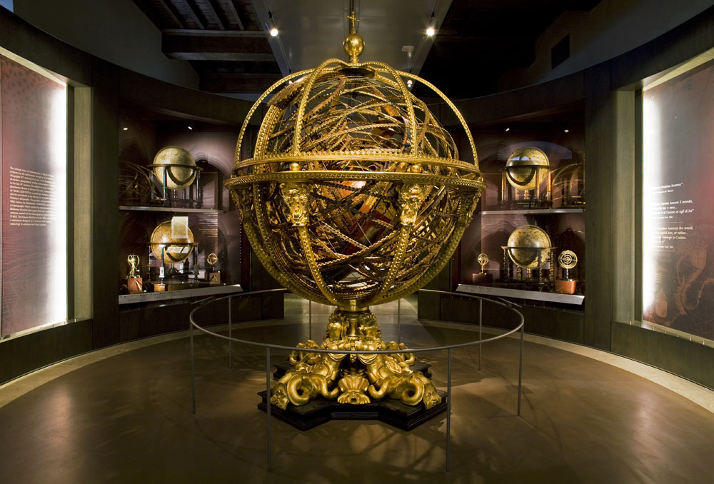 Celestial Globe at the Museo Galileo in Florence