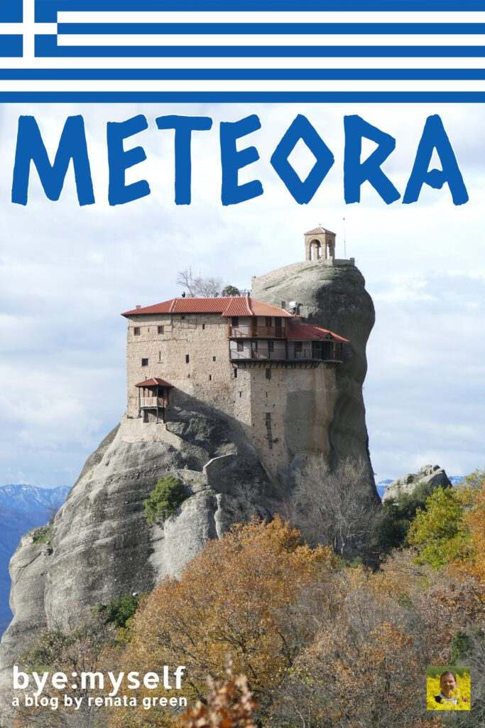 Pinnable PIcture for the post on Meteora