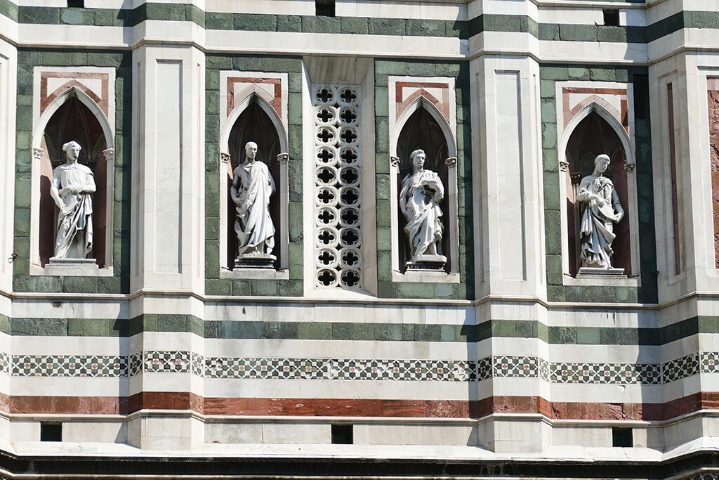 Campanile by Giotto di Bondone in Florence