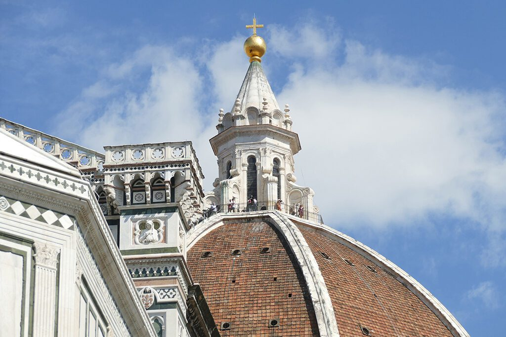 Brunelleschi's iconic dome in Florence  - Home of the Medici, Cradle of the Renaissance