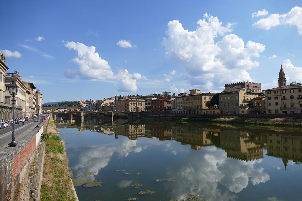 River Arno in Florence - Home of the Medici, Cradle of the Renaissance