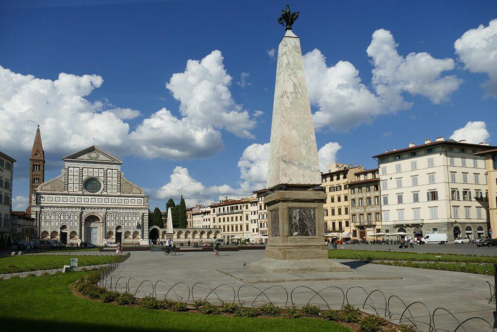 Piazza di Santa Maria Novella in Florence