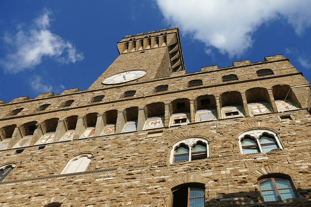 Palazzo Vecchio, the town hall of FLORENCE - Home of the Medici, Cradle of the Renaissance