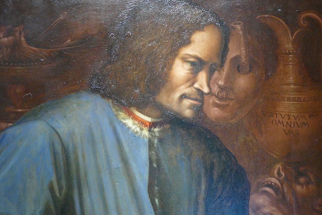 """Lorenzo """"Il Magnifico"""" de Medici by the great Giorgio Vasari"""