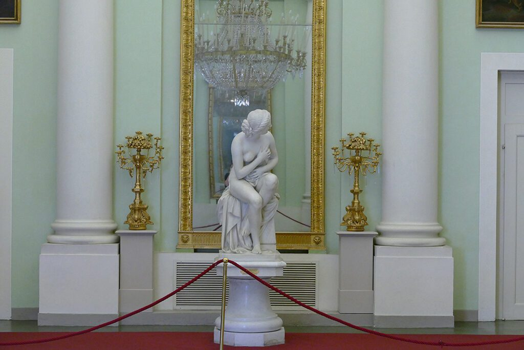 Susanna at Her Bath by Odoardo Fantacchiotti.