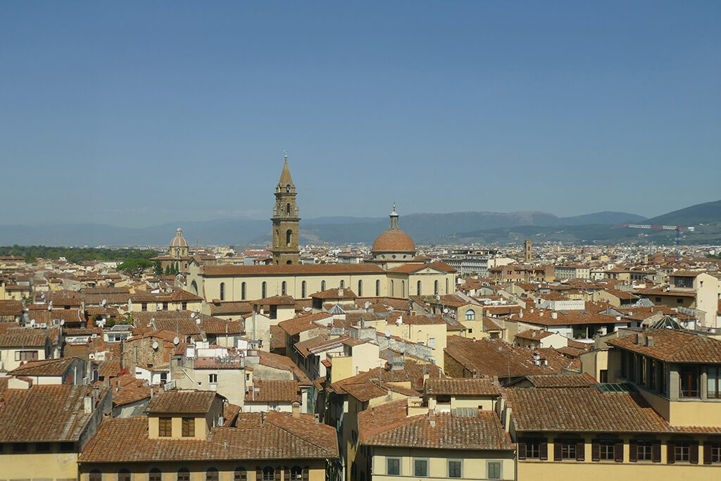 Skyline of Florence with the Palazzo Vecchio