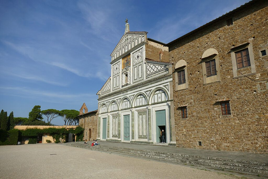 San Miniato al Monte in FLORENCE - Home of the Medici, Cradle of the Renaissance