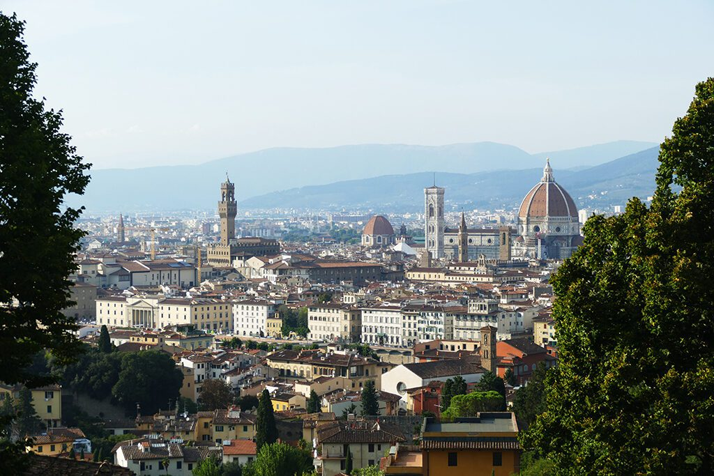 Panoramic view of FLORENCE - Home of the Medici, Cradle of the Renaissance