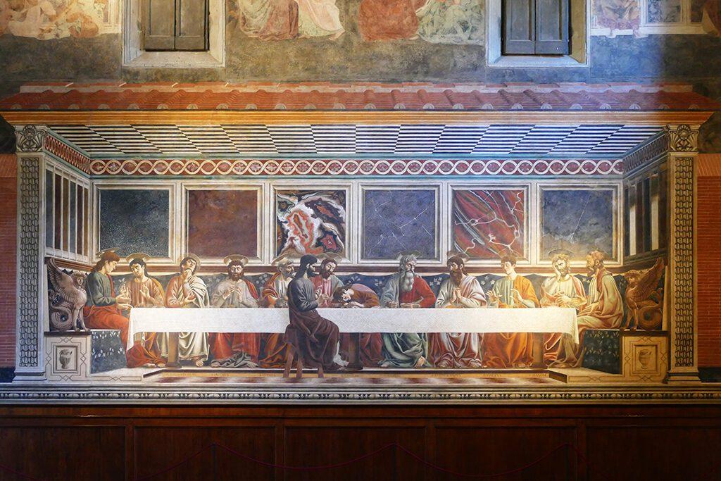 Cenacolo by Andrea del Castagno at the Sant'Apollonia monastery