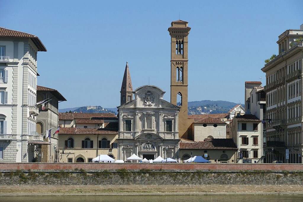 San Salvatore di Ognissanti in FLORENCE - Home of the Medici, Cradle of the Renaissance