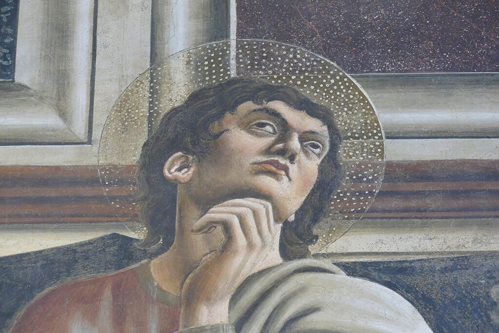 One Apostle from the Cenacolo by Andrea del Castagno at the Sant'Apollonia monastery