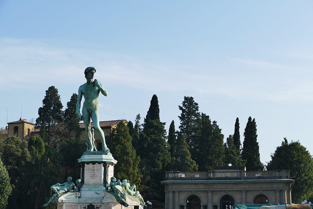 Piazzale Michelangelo in FLORENCE - Home of the Medici, Cradle of the Renaissance