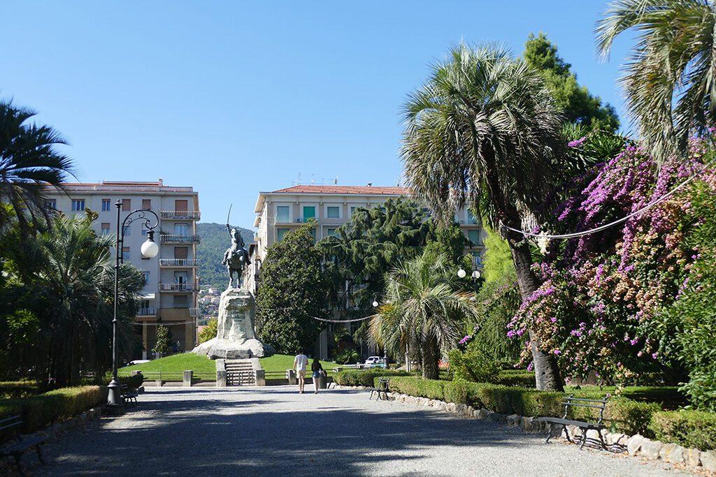 Giardini Pubblici Monumento Garibaldi  in La Spezia