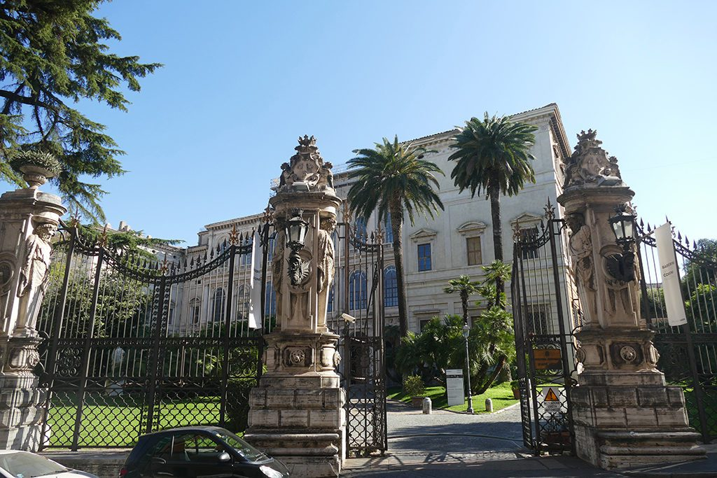 Barberini Palace in Rome.