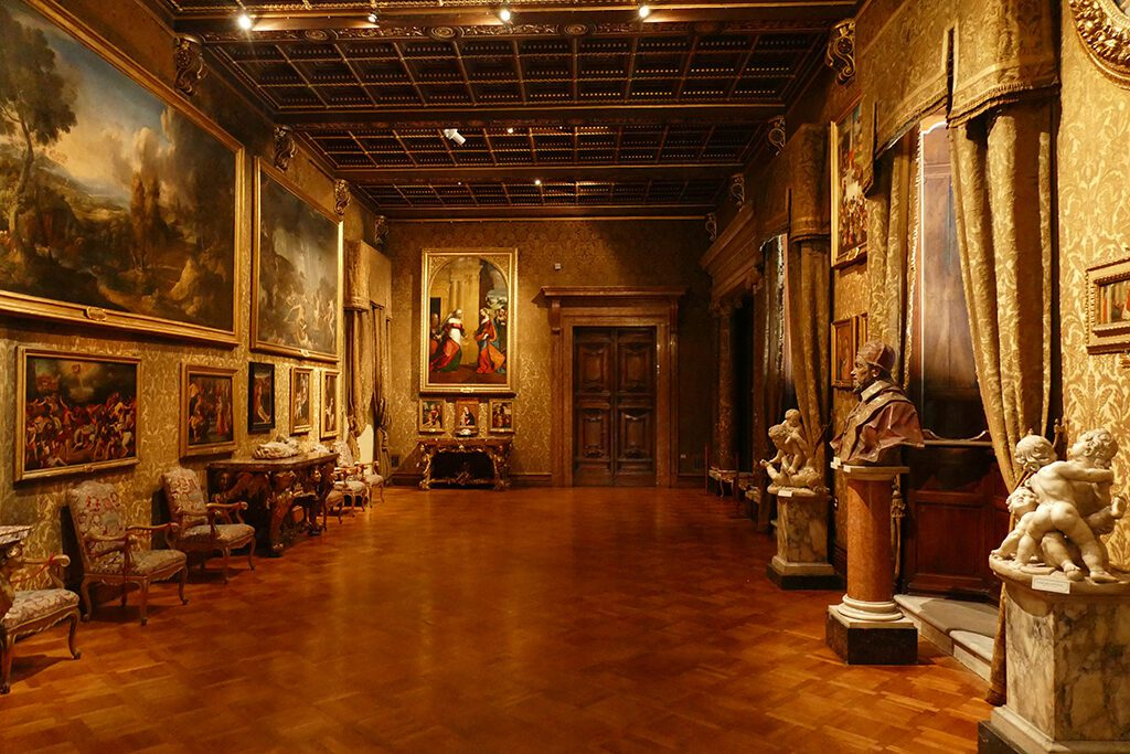 The Gallerie Pamphilj.