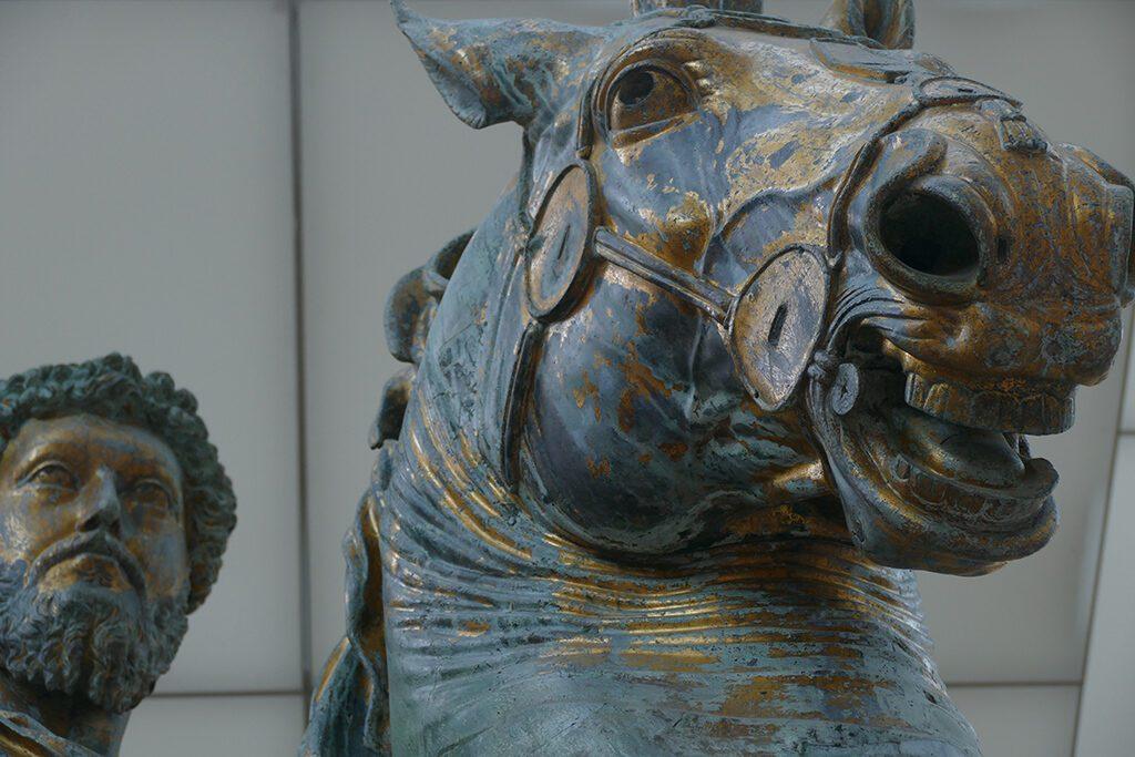 Equestrian statue of Marc Aurelius