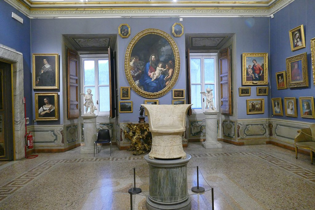 Galleries at the Palazzo Corsini in Rome.