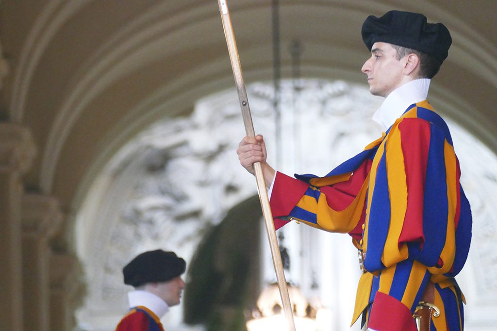 Swiss Guard at the Vatican City