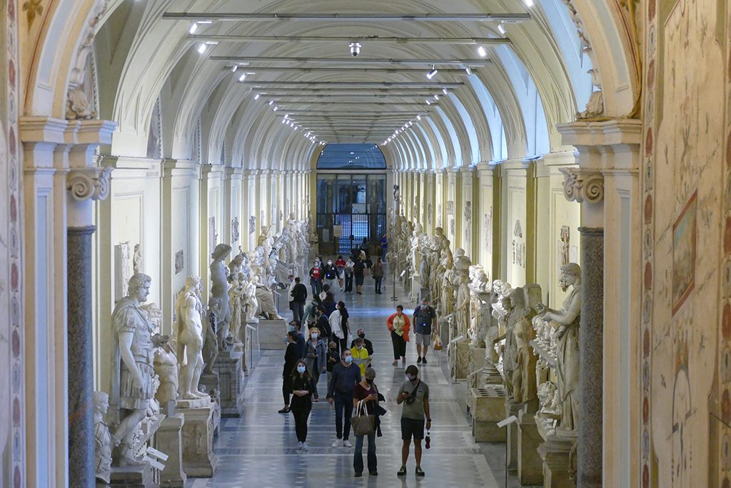 Antique Collection at the Musei Vaticani in Rome
