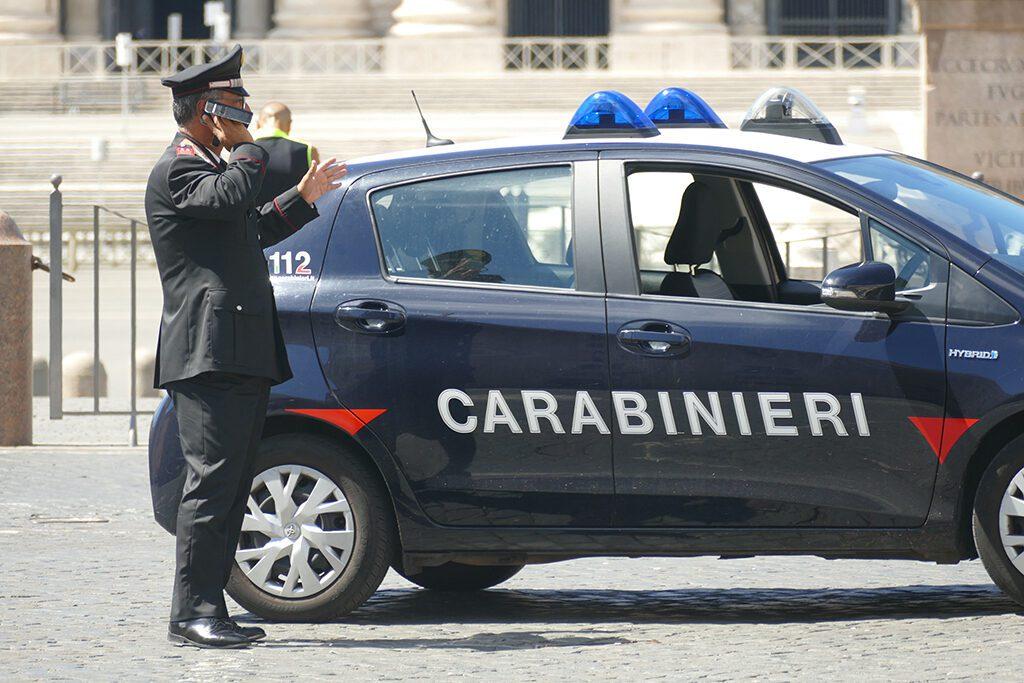 Carabinieri at the Saint Peter's Square