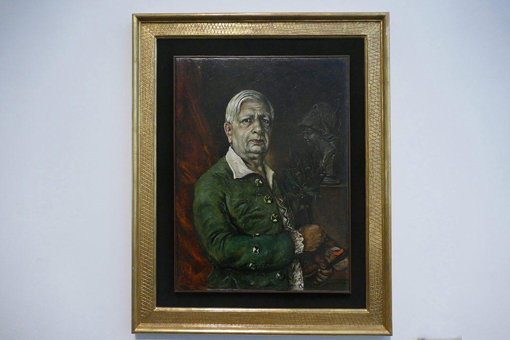 Selfportrait of Giorgio De Chirico
