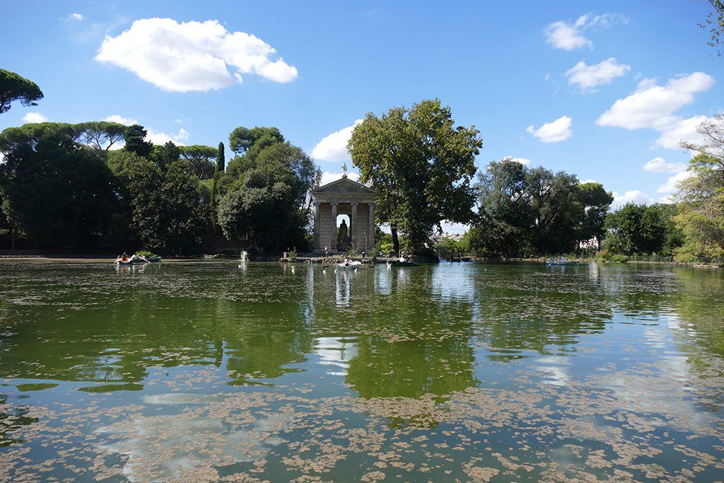 The Laghetto Di Villa Borghese