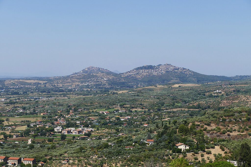 View of the surroundings of Tivoli,  seen when visiting the Villas on a Day Trip