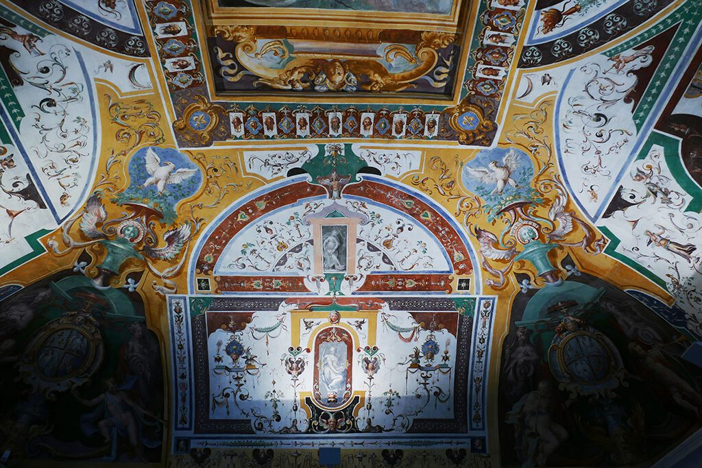 Sala di Noé, the chamber of Noah inside the Villa d'Este in Tivoli