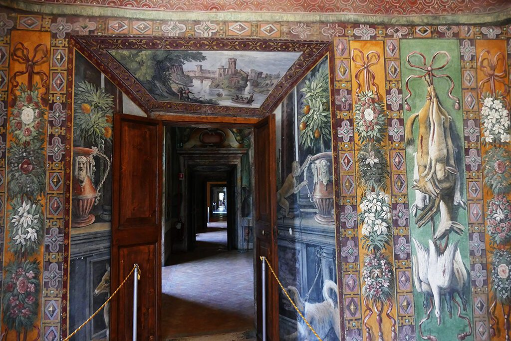 Sala della Caccia, the Hunting Room by Antonio Tempesta inside the Villa d'Este in Tivoli