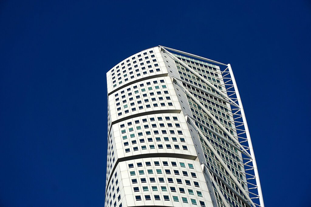 Turning Torso building in Malmö