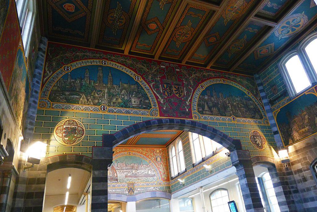 Sint Pieter train station in Ghent.